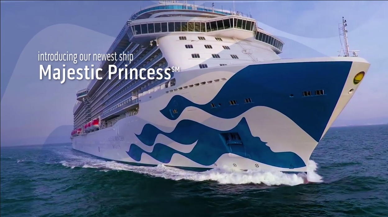 Introduce Majestic Princess - BOOK NOW