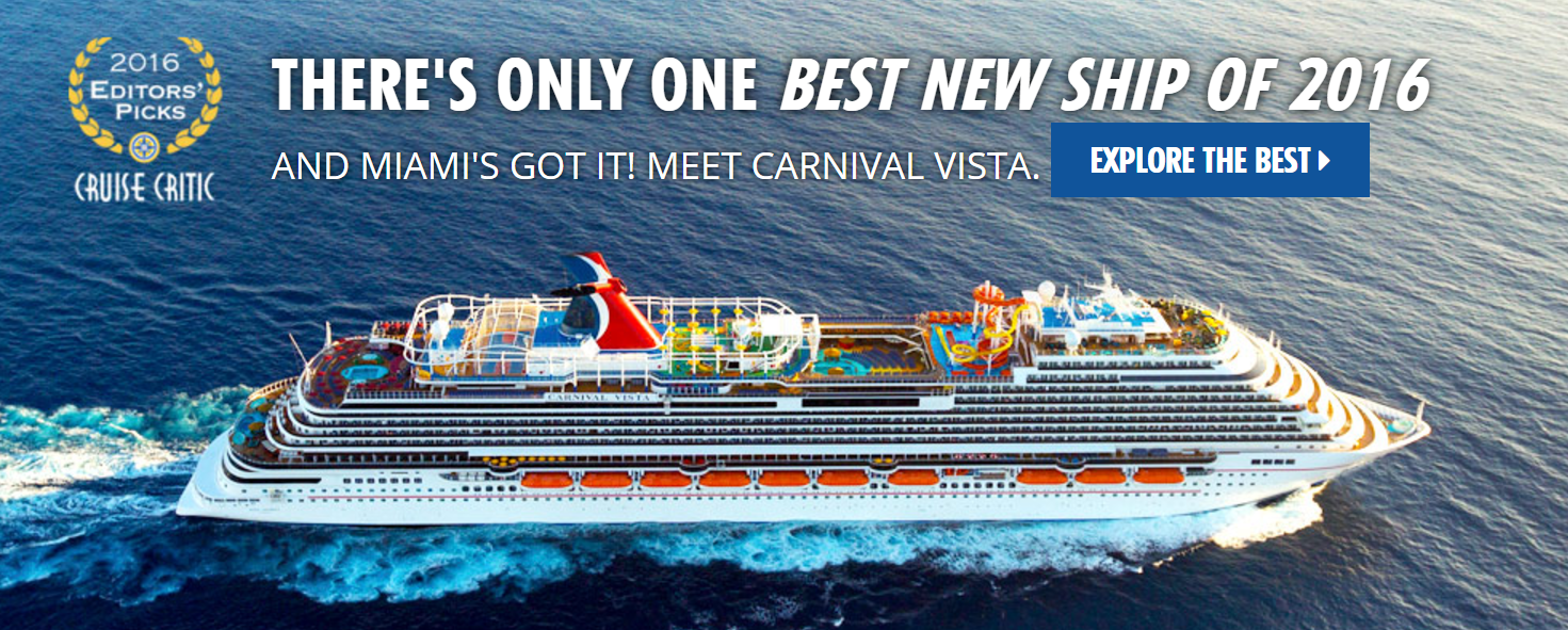 Best New Ship of 2016 - Meet Carnival Vista