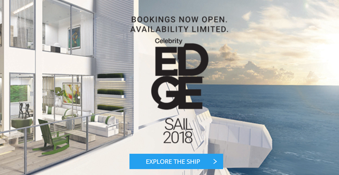 Introducing Celebrity EDGE - Arriving 2018